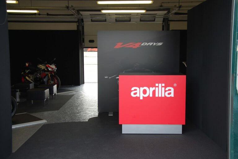 Aprilia Evento presentazione